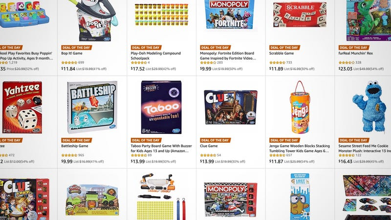 One-Day Hasbro Sale | Amazon