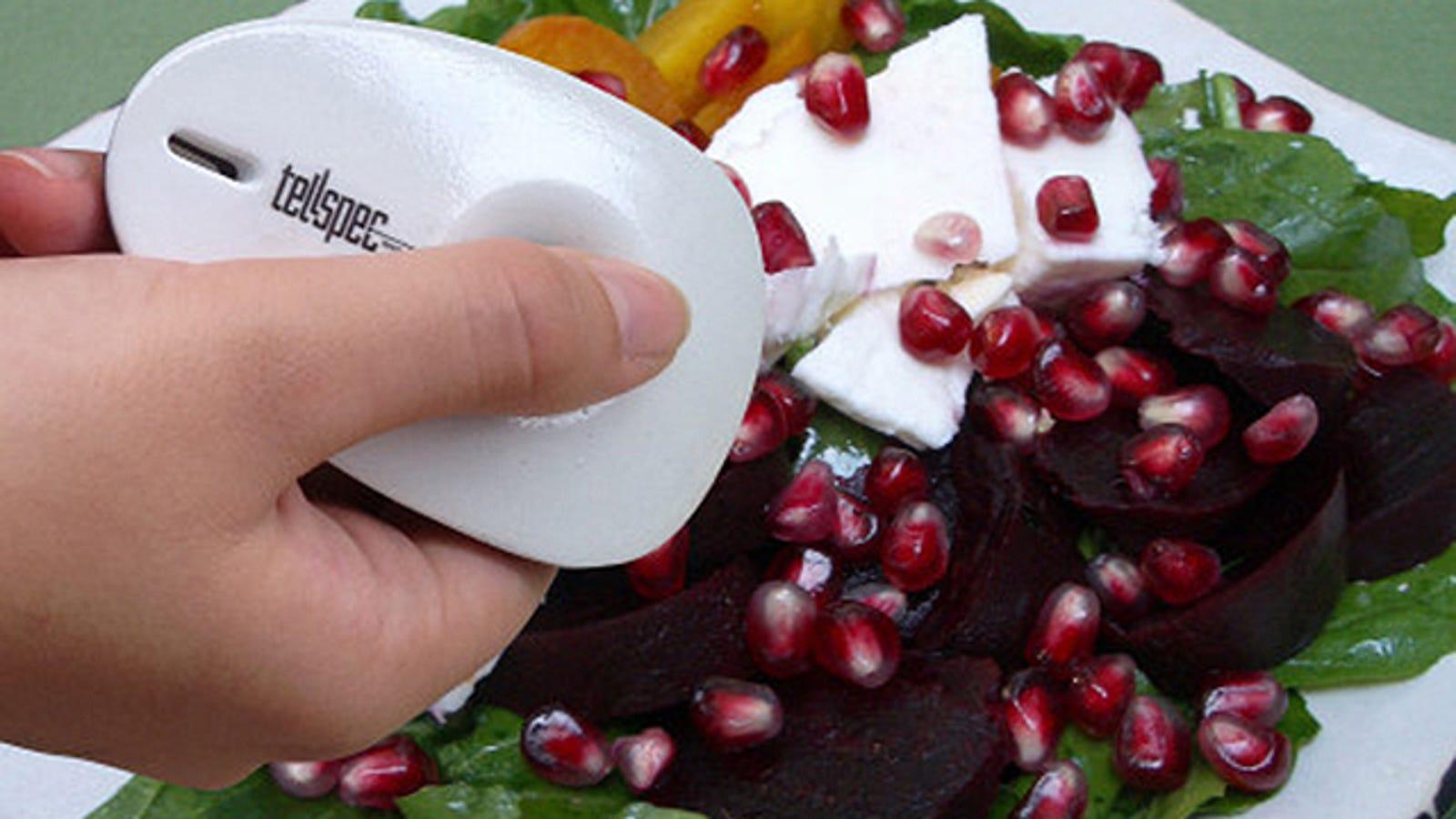 TellSpec, el espectrómetro láser que sabe de qué está hecha tu comida