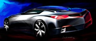 Illustration for article titled Next NSX? Acura to Show Advanced Sports Car Concept