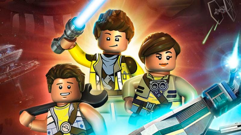 Illustration for article titled A new LEGO Star Wars series is coming to Disney XD