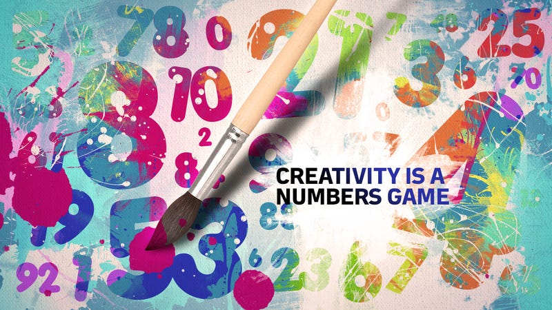 "Illustration for article titled ""Creativity Is a Numbers Game"""