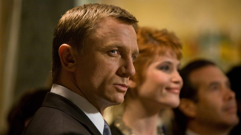 It may be a little longer before Bond (Daniel Craig, seen here in Quantum of Solace) gets his next martini.