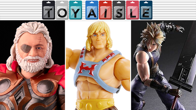 Big Smiles, Big Abs, and Big Swords in the Giant-Sized Toys of the Week