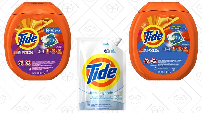 Illustration for article titled Save Up to $5 With Amazon's Tide Detergent Coupons