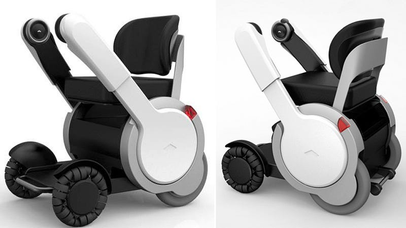 Illustration for article titled This Professor X-Approved Futuristic Wheelchair Is Arriving Next Year