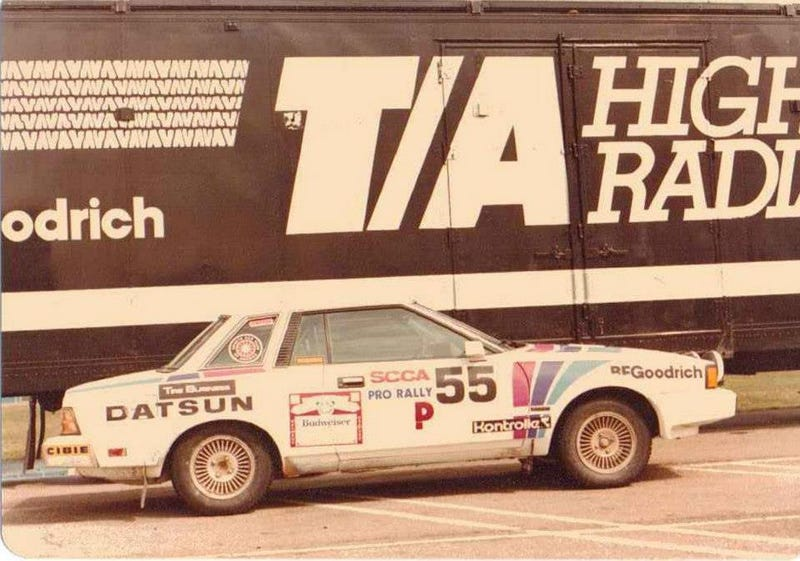 Illustration for article titled Didn't realize it was unofficial Nissan Rally day