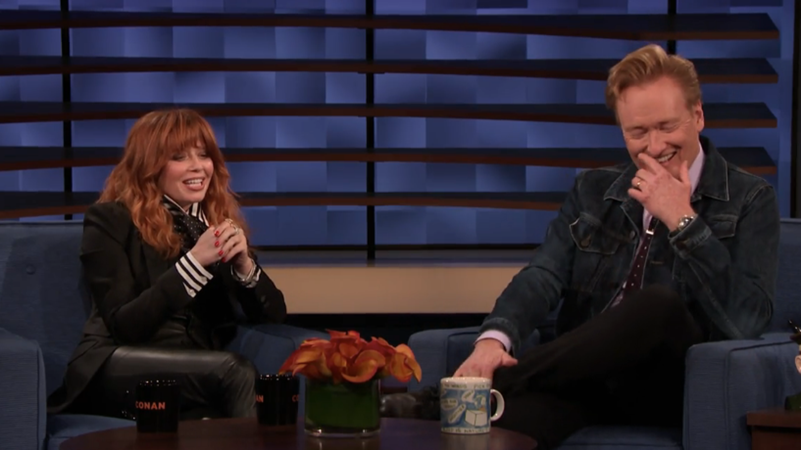 Natasha Lyonne has Conan in stitches dissing her Emmy chances