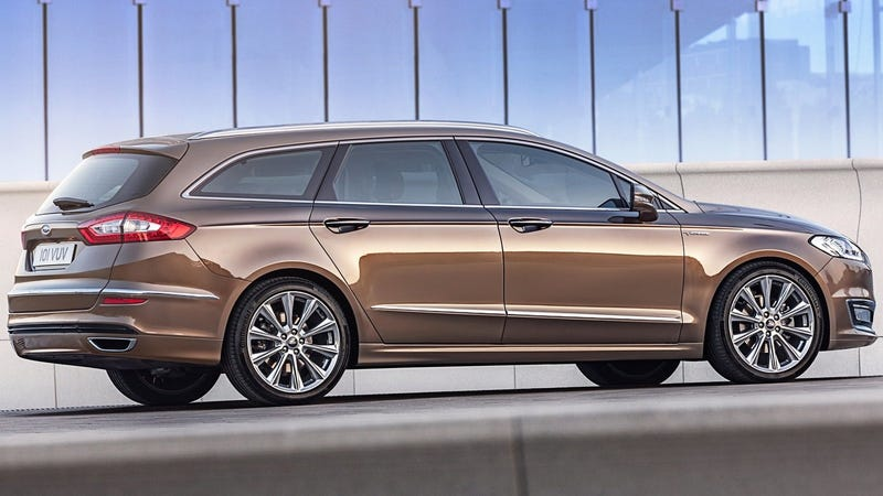 The Ford Mondeo Estate, the Fusion wagon we never got.