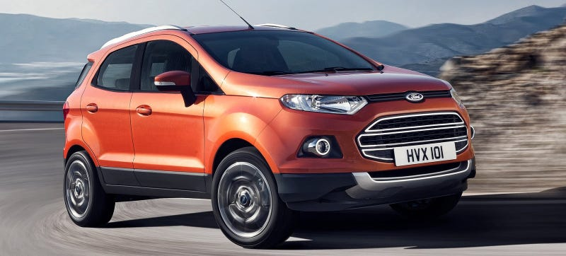 Illustration for article titled Is America Going To Get The Ford EcoSport?