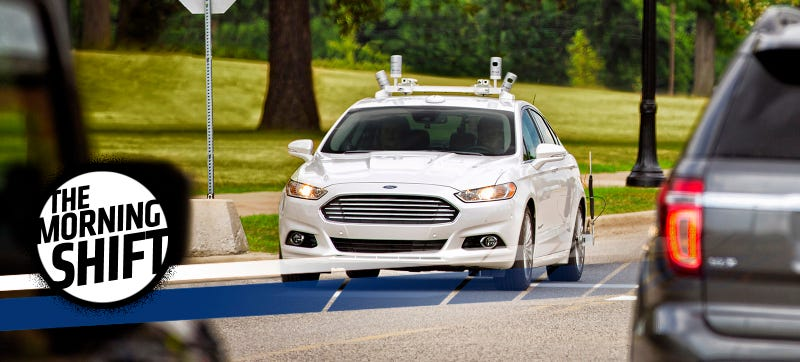 A Ford driverless test car. Photo Credit: Ford