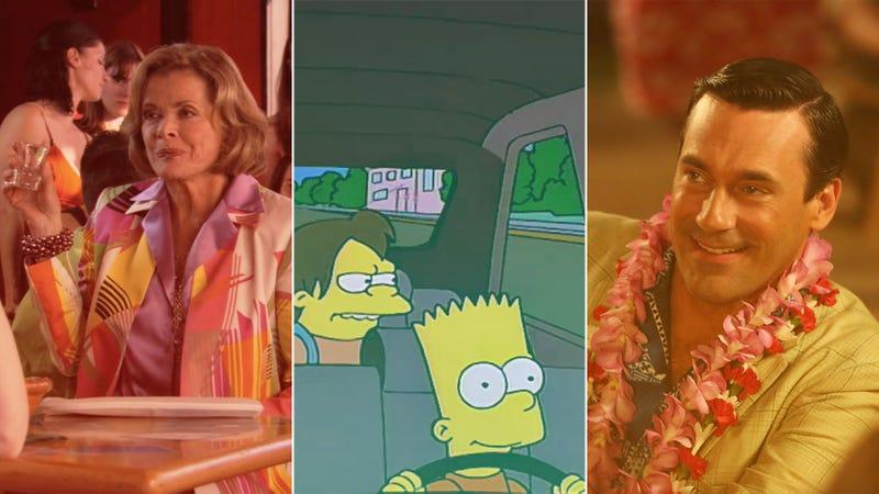 Screenshot: Arrested Development; Screenshot: The Simpsons; Photo: Michael Yarish/AMC