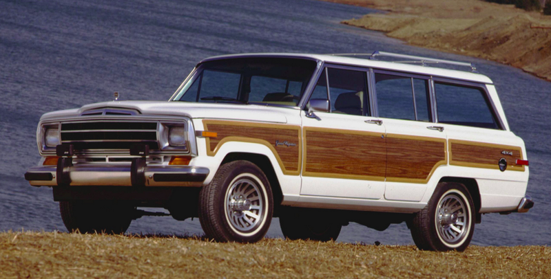 Photo: Jeep via Favcars - The Weird Old Rumor Behind The Jeep Grand Wagoneer's Wood Trim
