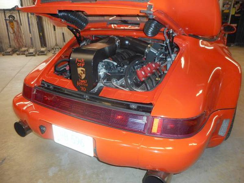 Illustration for article titled For $40,000, This 1987 Porsche 911 Cab Is NSFW