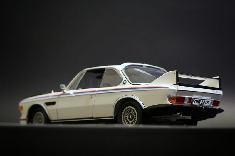Illustration for article titled BMW 3.0CSL in 1:18 scale