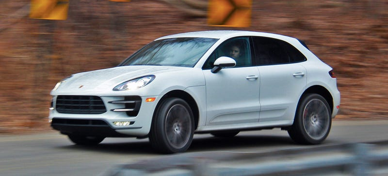 Illustration for article titled 2015 Porsche Macan Turbo Is A Luxury Hot Hatch On Steroids