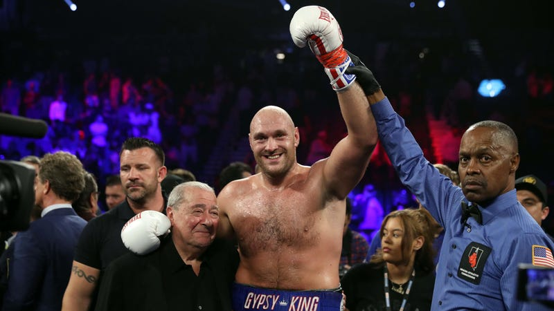 ESPN Is Stuck With Tyson Fury As Its Hero