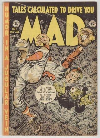 Illustration for article titled Jack Davis Baseball Cover