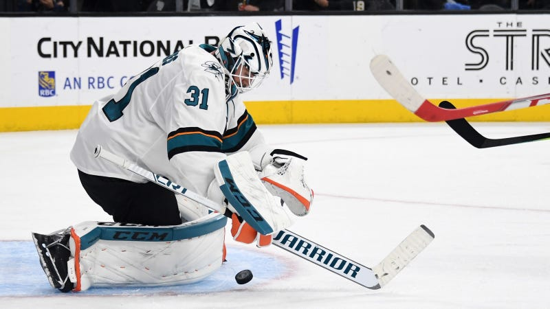 The Sharks Had Faith In Martin Jones, And Boy Did It Pay Off