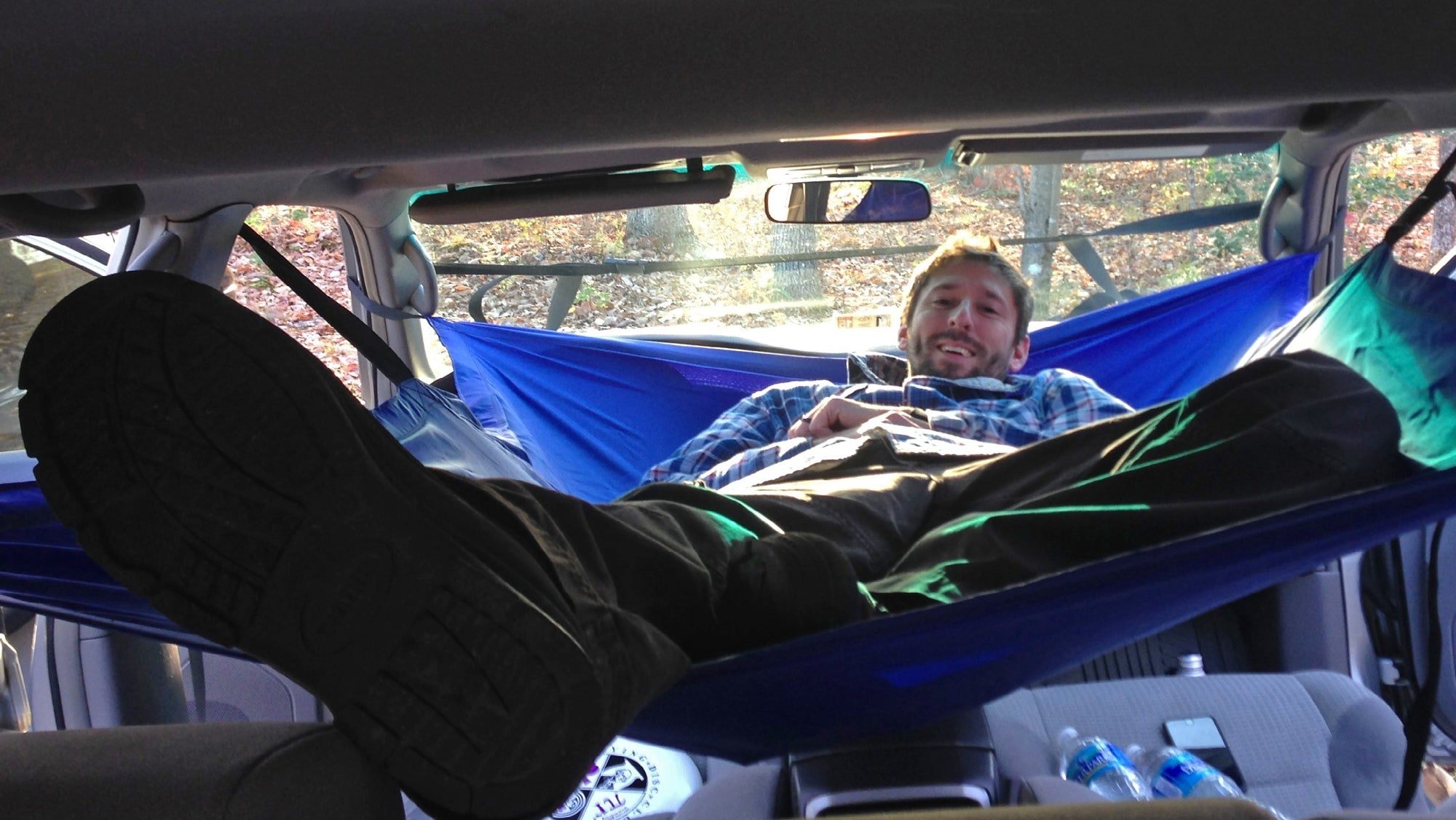 a hammock for your car gives you a cheap home if the apocalypse ever  es a hammock for your car gives you a cheap home if the apocalypse      rh   gizmodo