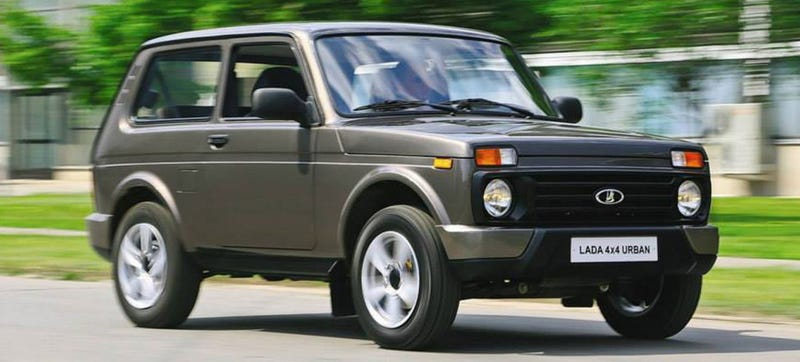 Illustration for article titled Great News You Guys, The Lada Niva Is Here To Stay!