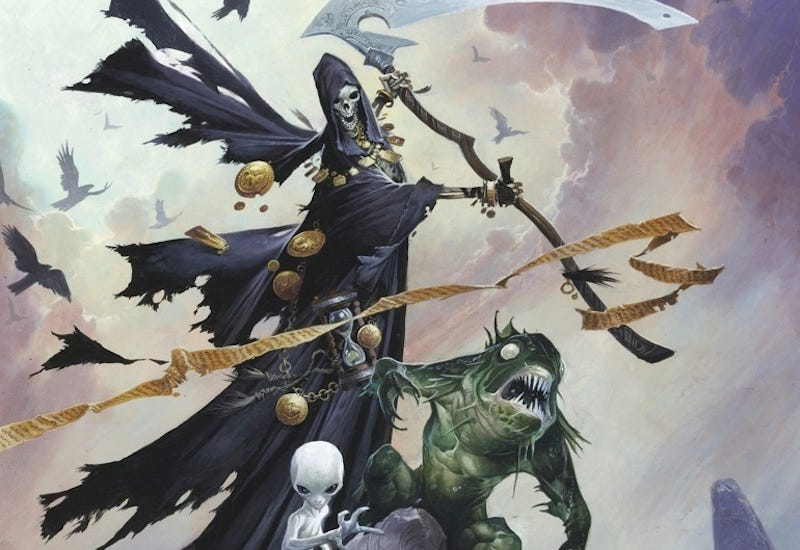 Illustration for article titled Do We Really Need a Fifth Book of Pathfinder Monsters? You're Goddamned Right We Do.