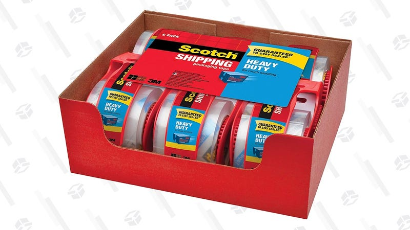 6-Pack Scotch Heavy Duty Packing Tape | $9 | Amazon | Use Subscribe & Save for 15% off