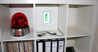 Illustration for article titled Turn an Ikea Shelf into a Hidden Charging Station