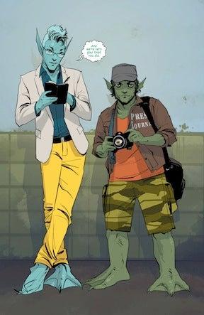 Illustration for article titled Saga #13, or Them Bones, Them Bones