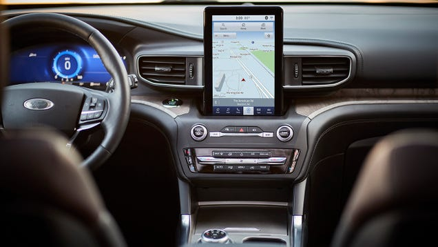 The Future of Your Car s Infotainment Screen Is Dystopian and Bleak