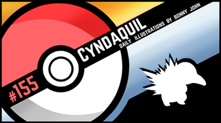 Illustration for article titled Cutie Cyndaquil!  Pokemon One a Day, Series 2!