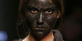 Italian designer Claudio Cutugno said that he was unaware blackface was offensive.HuffPost Style via Twitter