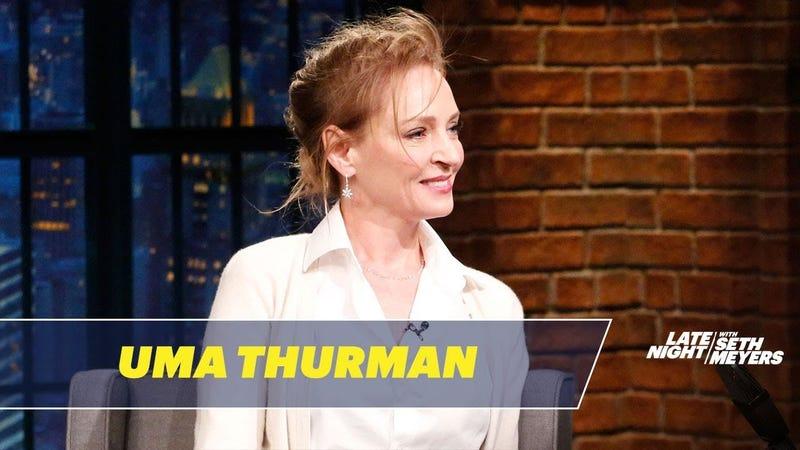 xbw7xcxi15d0ooedvhfe - Both Uma Thurman and Jennifer Lawrence Rightfully Kicked Harvey Weinstein Around on Late Night