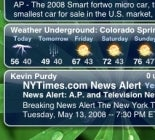 """Illustration for article titled IntelliScreen Adds Widgets to iPhone's """"Slide to Unlock"""" Screen"""
