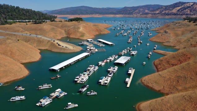 Record Heat Worsens California s Already Punishing Drought