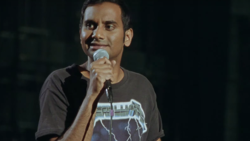 Illustration for article titled Aziz Ansari discusses Crazy Rich Asians and Simpsons Apu controversy in new Netflix standup special