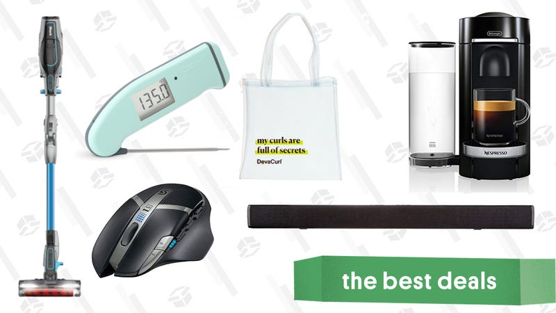 Illustration for article titled Saturday's Best Deals: Thermapen Mk4, Refurb. Shark IONFLEX Vacuum, Nespresso, and More