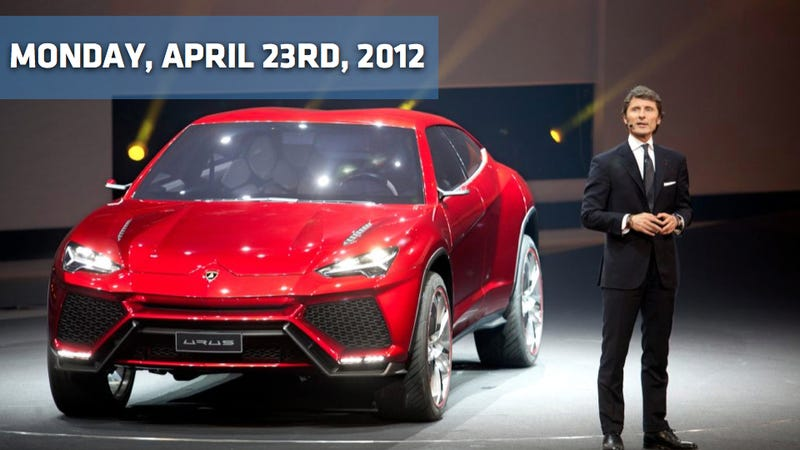 Illustration for article titled Lamborghini Urus, Bentley EXP 9 F Concept, And Ferrari Will Have To Build Hybrids