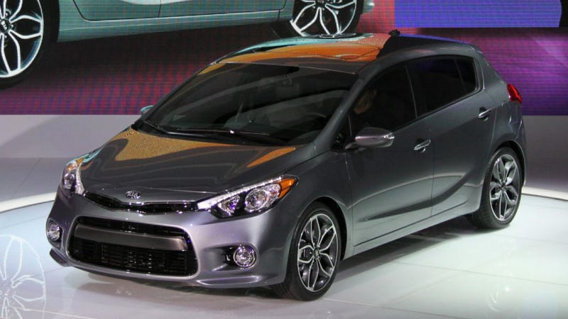 Illustration for article titled The Kia Forte Gets All Hot Hatch-Tacular For 2014