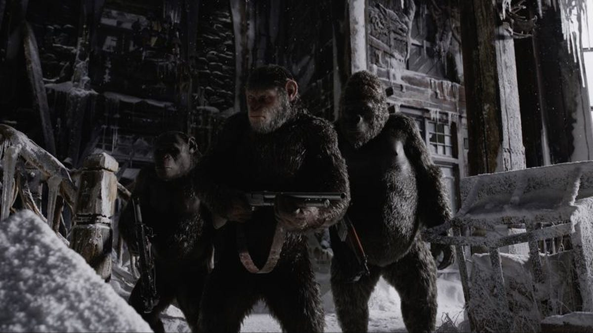 The ambitious War For The Planet Of The Apes ends up