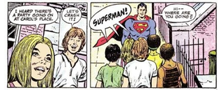 Illustration for article titled In Old-School Comic PSAs, Superman Torments Mouthy Children