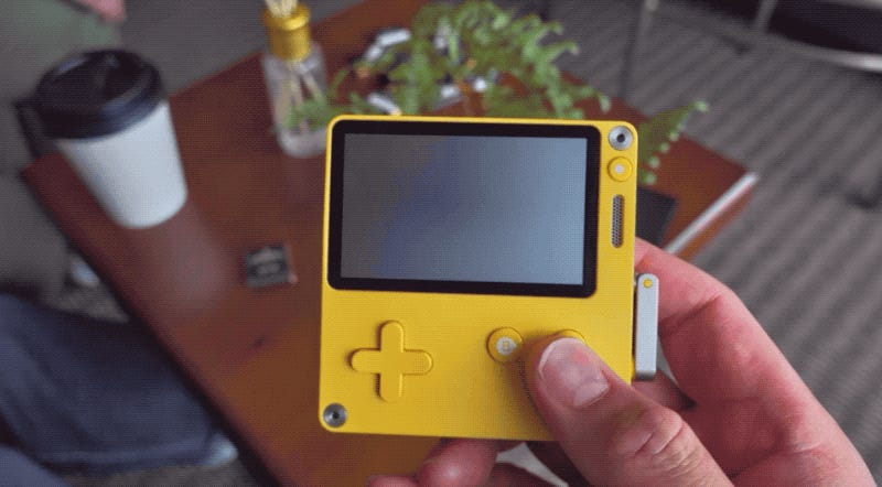 Hands-On With The Playdate, The Game Portable With A Crank
