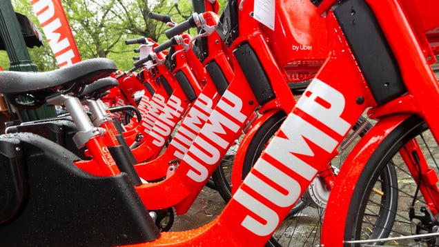 Uber s Junked JUMP Bikes Are Getting A Second Chance