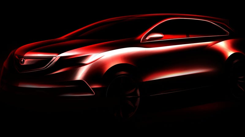 Illustration for article titled The New Acura MDX Looks Like A Nice Chevy Equinox