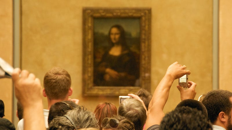 "Illustration for article titled French Scientist Claims the ""Real"" Mona Lisa Is Hidden Underneath the Famous Painting"