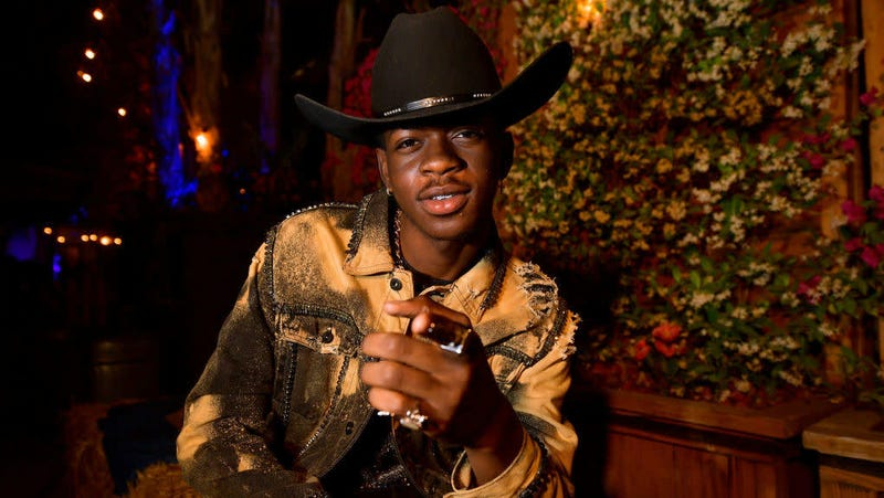 Illustration for article titled Has Lil Nas X Actually Ridden a Horse Yet?