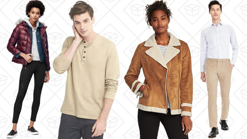 40% off at Banana Republic, Old Navy, and GAP with code FAMILY