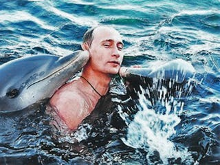 Illustration for article titled Ukraine Update #3: Putin Adopts Dolphins, Tells Kiev To Pay Up