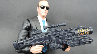 Illustration for article titled Agent Coulson's First Action Figure Is Almost Here, And It Looks Great