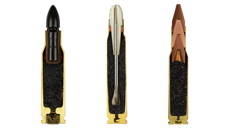 Illustration for article titled Cross-Section Bullets Are Beautiful for Something That Could Kill You