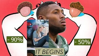 """Illustration for article titled How to become a """"Boy Dick"""" Cunnilingus Master: Kellen Winslow Jr and Antonio Cromartie teach you how to really get down into that Twitter roast beef (plus Steam Deals, bad car buying experiences and other constantly changing trends at the whim of clickbait)"""
